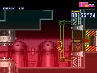 Screenshot Thumbnail / Media File 1 for Super Metroid (Japan, USA) (En,Ja) [Hack by Black Telomeres v2.66] (~Super Metroid - Golden Dawn)